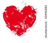 heart vector illustration   Shutterstock .eps vector #43496383