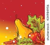 autumn background | Shutterstock .eps vector #434984956