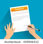 Contract With Signature   Flat...