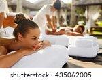 Spa Couple Massage. Beautiful...