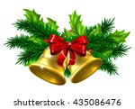 christmas tree decoration... | Shutterstock .eps vector #435086476