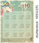 Whimsical Collage Calendar For...