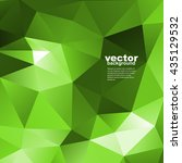 vector abstract geometric... | Shutterstock .eps vector #435129532