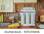 reverse osmosis system. water... | Shutterstock . vector #435144646