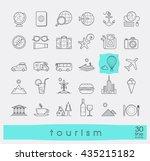 set of premium quality line... | Shutterstock .eps vector #435215182