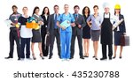 business team. | Shutterstock . vector #435230788
