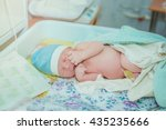 birth  newborn   Shutterstock . vector #435235666