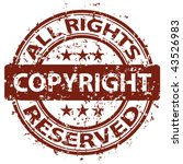 "vector damaged ""copyright"" stamp 
