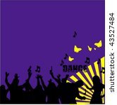 grunge background vector | Shutterstock .eps vector #43527484