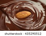 chocolate   melted chocolate... | Shutterstock . vector #435290512