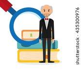education design. university... | Shutterstock .eps vector #435300976