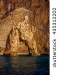 mountains in black sea  crimea. | Shutterstock . vector #435312202