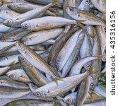 Small photo of fresh bogue fish closeup at the local market