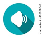 sound icon isolated vector flat ...
