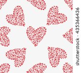 seamless vector pattern with... | Shutterstock .eps vector #435366436