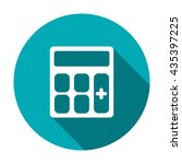 calculator icon  isolated... | Shutterstock .eps vector #435397225
