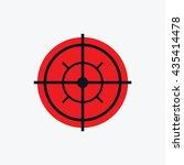 aim target icon   Shutterstock .eps vector #435414478