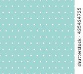seamless polka dots pattern | Shutterstock .eps vector #435434725