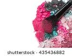 Crushed Eyeshadows With Brush...