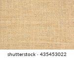 burlap texture background. | Shutterstock . vector #435453022