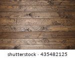 distressed reclaimed wooden... | Shutterstock . vector #435482125