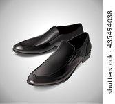 Black Men\'s Glossy Patent...