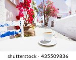 Traditional Greek Coffee In A...