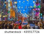 london  uk   december 30  2015  ... | Shutterstock . vector #435517726