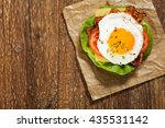 Sandwich With A Fried Egg ...