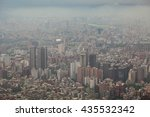 aerial view of taipei city in... | Shutterstock . vector #435532342