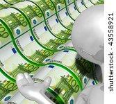 money presenter | Shutterstock . vector #43558921