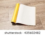 magazine pages | Shutterstock . vector #435602482