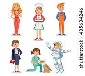 vector set of different...   Shutterstock .eps vector #435634246