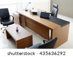 vip office furniture | Shutterstock . vector #435636292