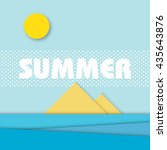 material design style summer...