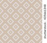 seamless beige vintage slavic...   Shutterstock . vector #435661348