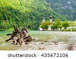 st. bartholomew's church ... | Shutterstock . vector #435672106
