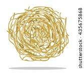 Tumbleweed Icon Cartoon. Singe...