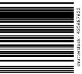 horizontal straight parallel... | Shutterstock .eps vector #435687622