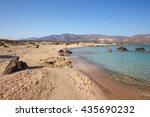 crete  greece   24 may  2016 ... | Shutterstock . vector #435690232