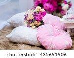 beautiful  delicate bridal... | Shutterstock . vector #435691906