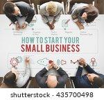 business strategy planning...   Shutterstock . vector #435700498