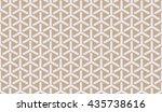 seamless beige isometric... | Shutterstock . vector #435738616