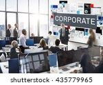 corporate corporation... | Shutterstock . vector #435779965