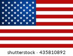 united state of america flag.... | Shutterstock .eps vector #435810892