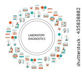 medical laboratory concept.... | Shutterstock .eps vector #435838882