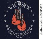 vintage sports graphic label...   Shutterstock .eps vector #435886852
