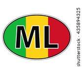 sticker on car  flag republic ...