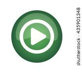 vector button play | Shutterstock .eps vector #435901348