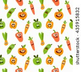 vector seamless pattern with... | Shutterstock .eps vector #435915832
